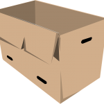 Two Types of Cardboard to Store Clothes and Dishes When Moving